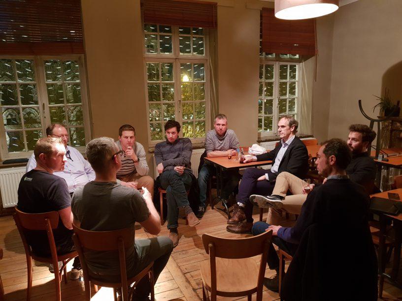 Groepsgesprek Meetup Ieper